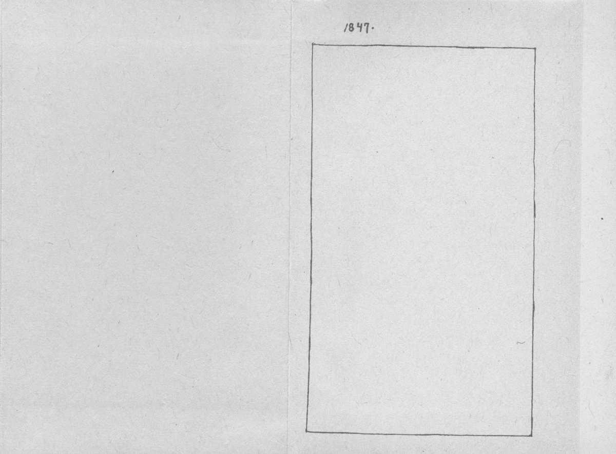 «Мала книжка» Т. Шевченка. С. 1847 р.