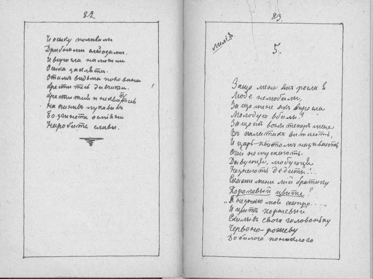 «Мала книжка» Т. Шевченка. С. 82 – 83…