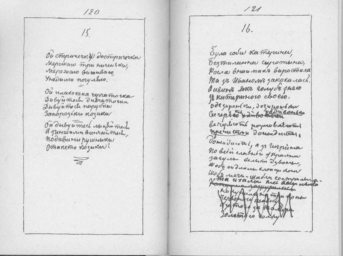 «Мала книжка» Т. Шевченка. С. 120 –…
