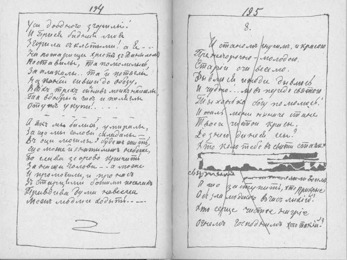 «Мала книжка» Т. Шевченка. С. 194 –…