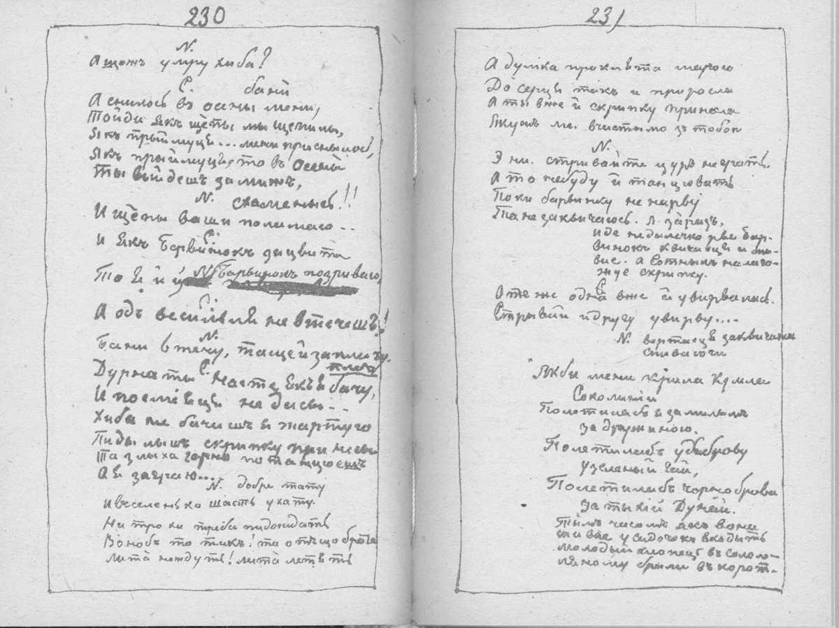 «Мала книжка» Т. Шевченка. С. 230 –…