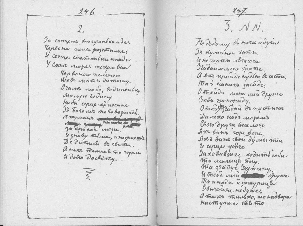 «Мала книжка» Т. Шевченка. С. 246 –…