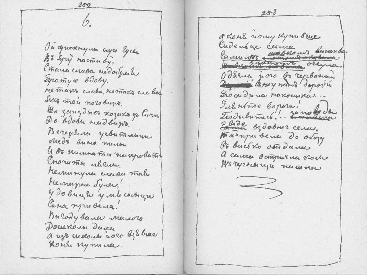 «Мала книжка» Т. Шевченка. С. 252 –…