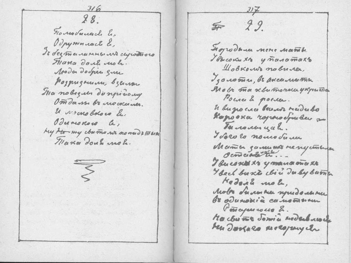 «Мала книжка» Т. Шевченка. С. 316 –…