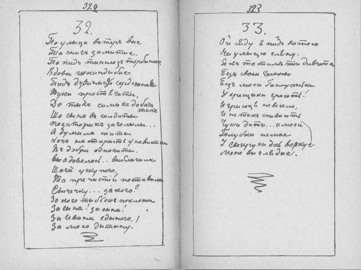 «Мала книжка» Т. Шевченка. С. 322 –…