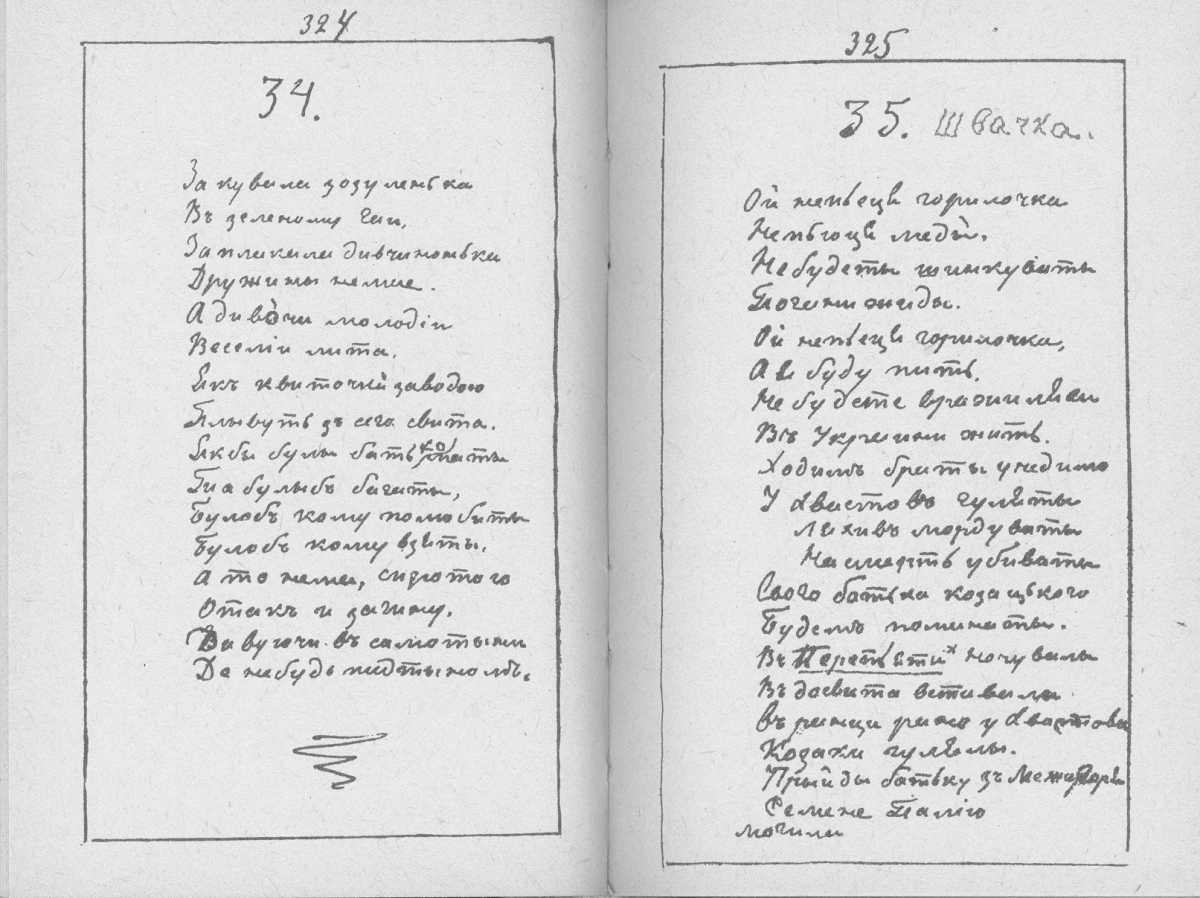 «Мала книжка» Т. Шевченка. С. 324 –…