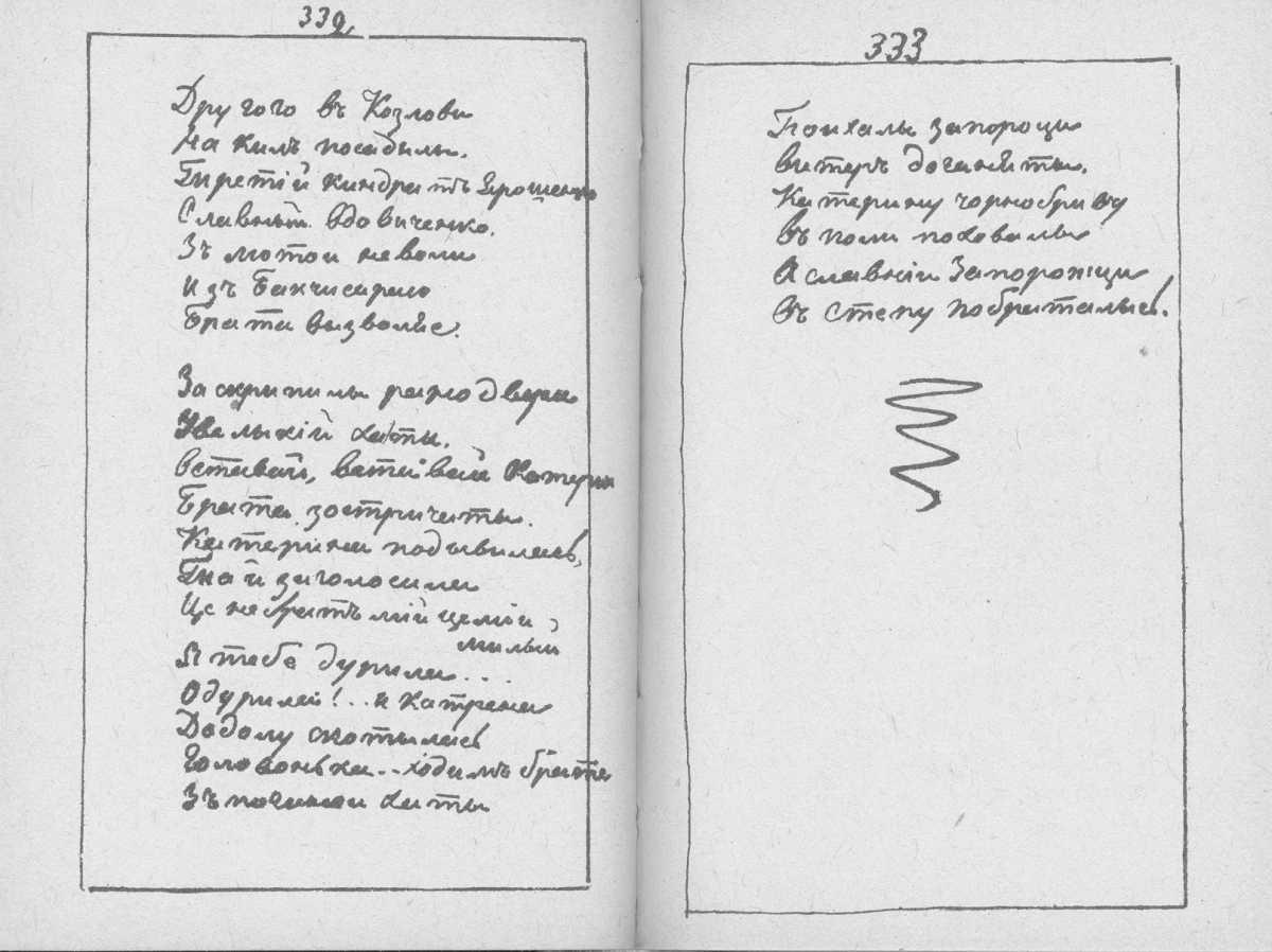 «Мала книжка» Т. Шевченка. С. 332 –…