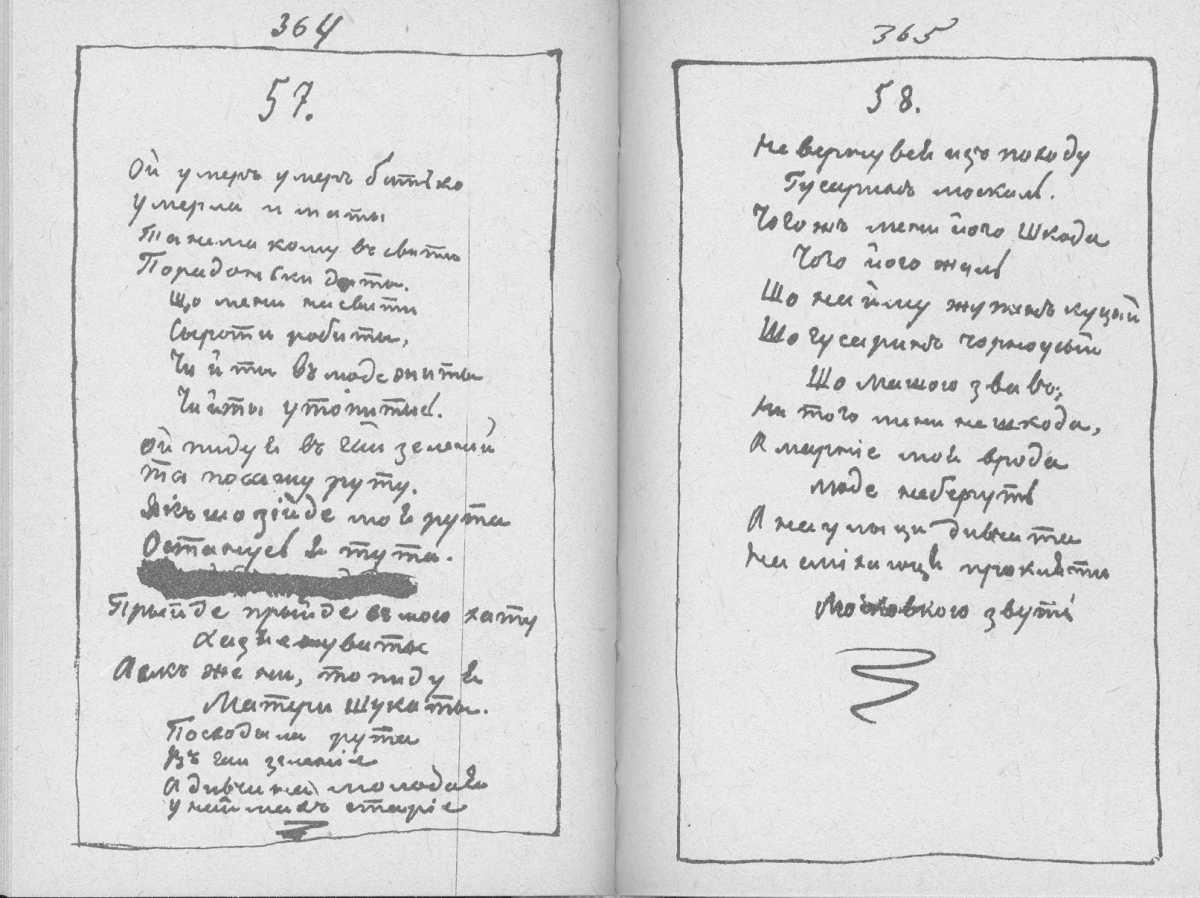 «Мала книжка» Т. Шевченка. С. 364 –…