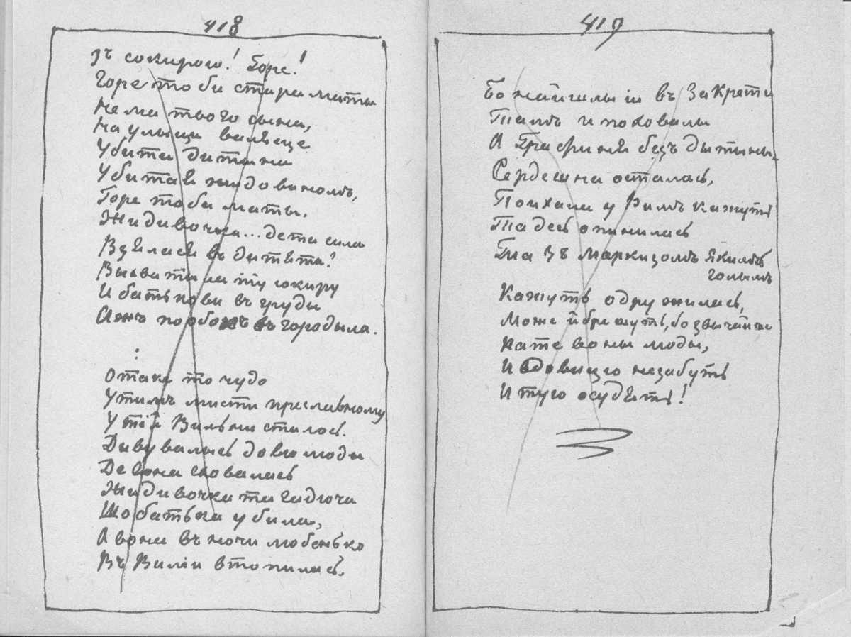 «Мала книжка» Т. Шевченка. С. 418 –…