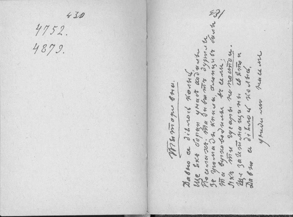«Мала книжка» Т. Шевченка. С. 430 –…