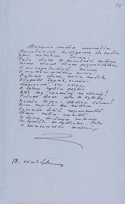 «Більша книжка» Т. Шевченка. С. 315…