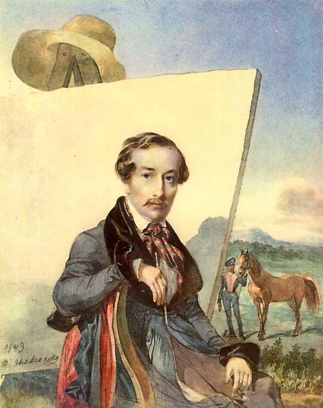 Тарас Шевченко. Портрет О.Є. Коцебу