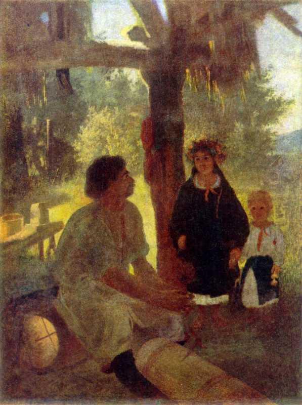Тарас Шевченко. На пасеке