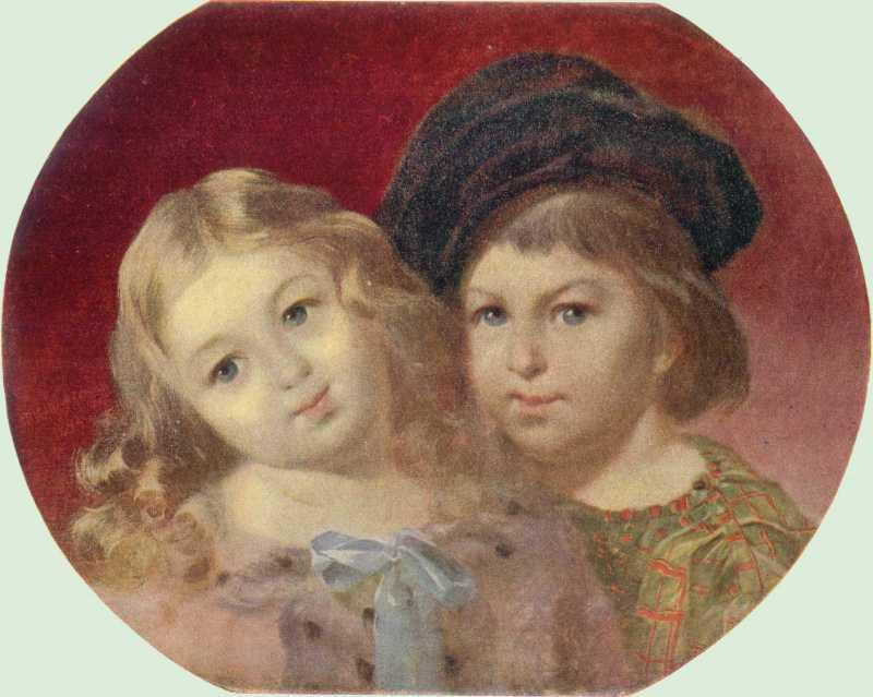 Тарас Шевченко. Портрет детей В. М.…