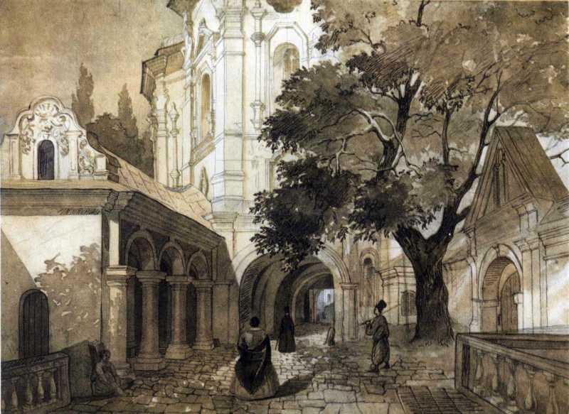 Тарас Шевченко. Церковь всех святых в…
