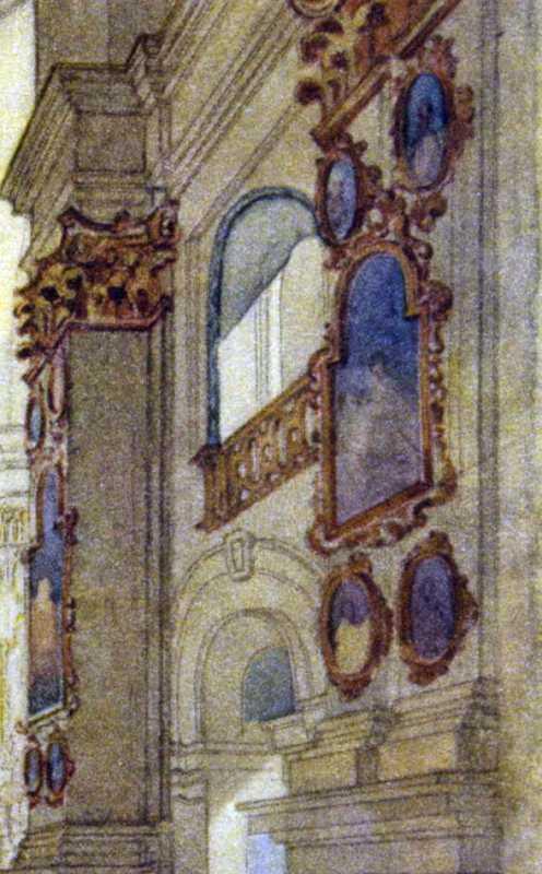 Тарас Шевченко. Фрагмент правої стіни