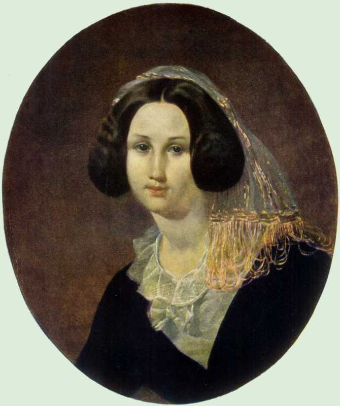 Taras Shevchenko. Portrait of E. V.…