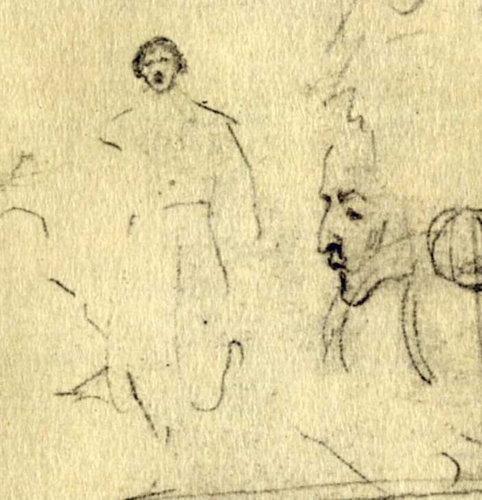 Taras Shevchenko. The figure of a man…