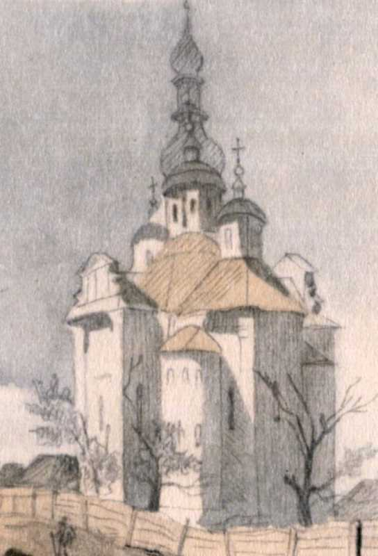 Taras Shevchenko. Intercession church
