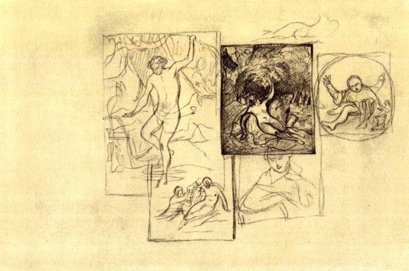 Taras Shevchenko. Narcissus and the…