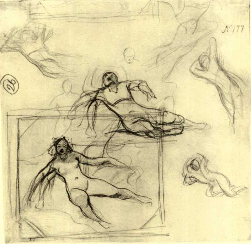 Taras Shevchenko. Bacchante. Sketches…