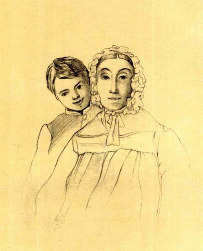 Тарас Шевченко. Портрет літньої жінки…