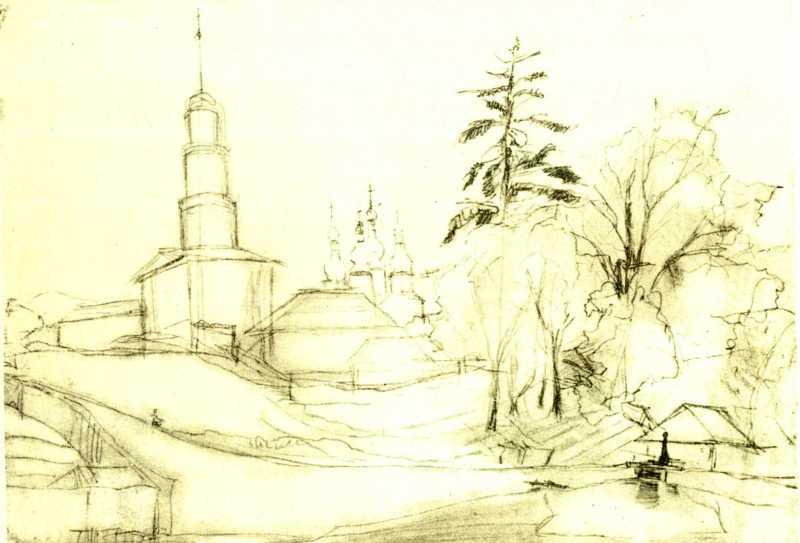 Тарас Шевченко. Китаївська пустинь
