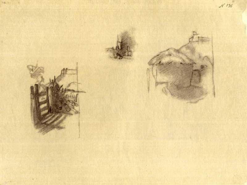 Тарас Шевченко. Сельские постройки