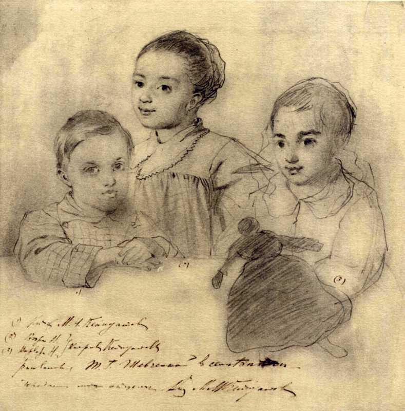 Taras Shevchenko. Children of M.I.…