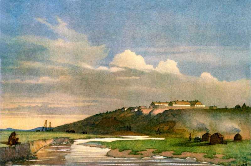 Taras Shevchenko. Fort Irgiz Kala