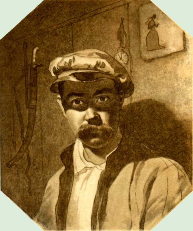 Taras Shevchenko. Self-portrait 1849…