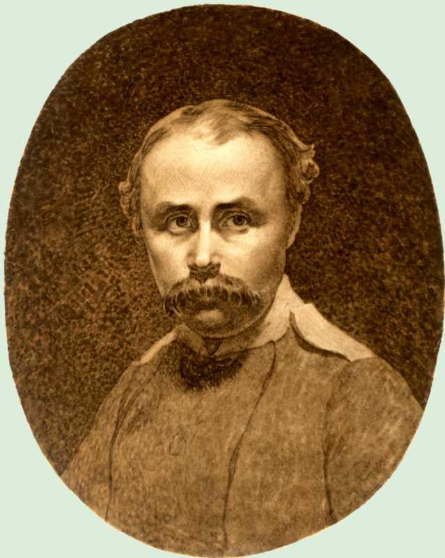 Тарас Шевченко. Автопортрет 1849 г.