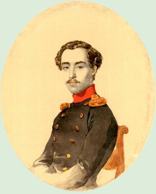 Taras Shevchenko. Portrait of N. Isaev