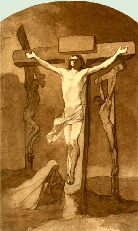 Taras Shevchenko. Crucifixion