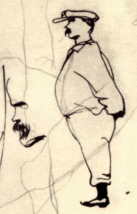 Taras Shevchenko. Self-portrait…