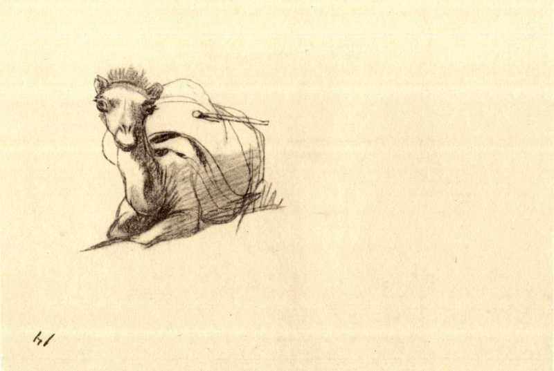 Taras Shevchenko. Loaded camel (fol.…