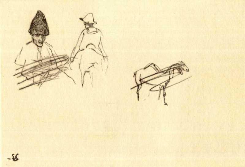 Taras Shevchenko. Kazakhs (fol. 35 r.)