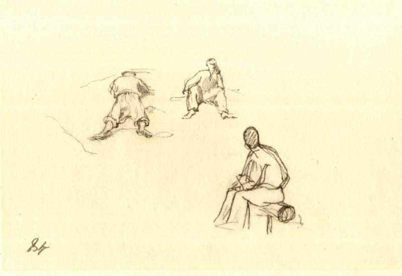 Тарас Шевченко. Крестьяне (л. 48)