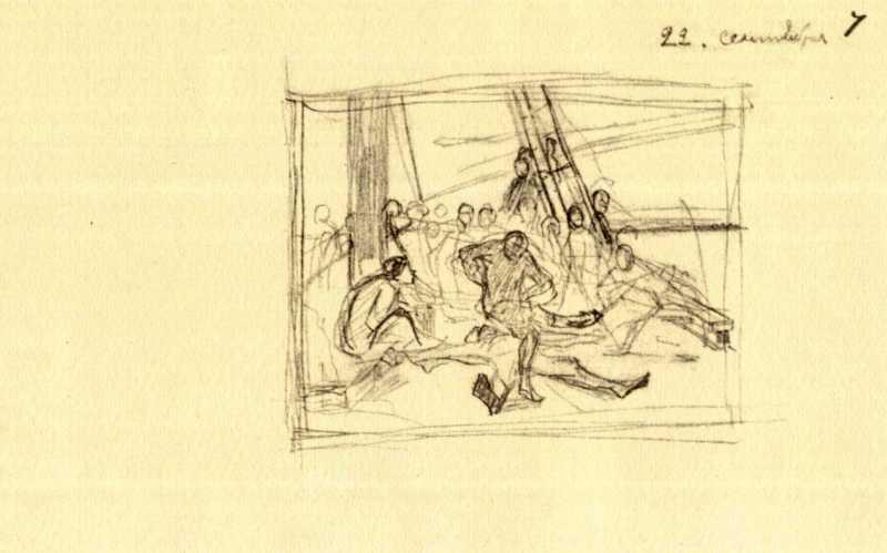 Тарас Шевченко. Танец на палубе шхуны…