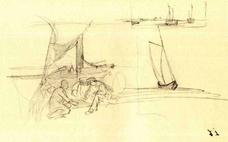 Taras Shevchenko. On the deck of the…