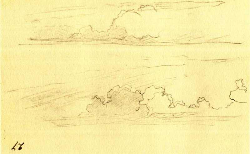 Тарас Шевченко. Хмари (арк. 27)