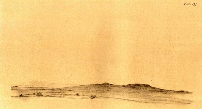 Taras Shevchenko. Arid sands
