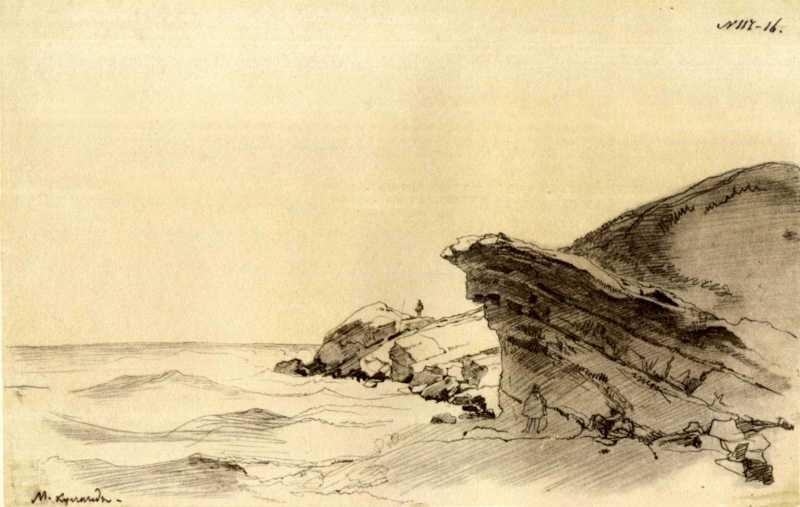 Taras Shevchenko. Cape Izendy Aral