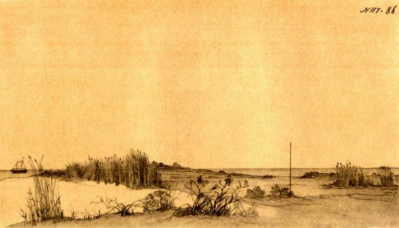 Taras Shevchenko. Shore of Aral Sea