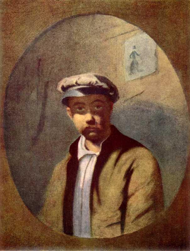 Taras Shevchenko (?). Self-portrait in…
