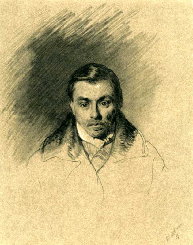 Taras Shevchenko. Portrait of M. P.…