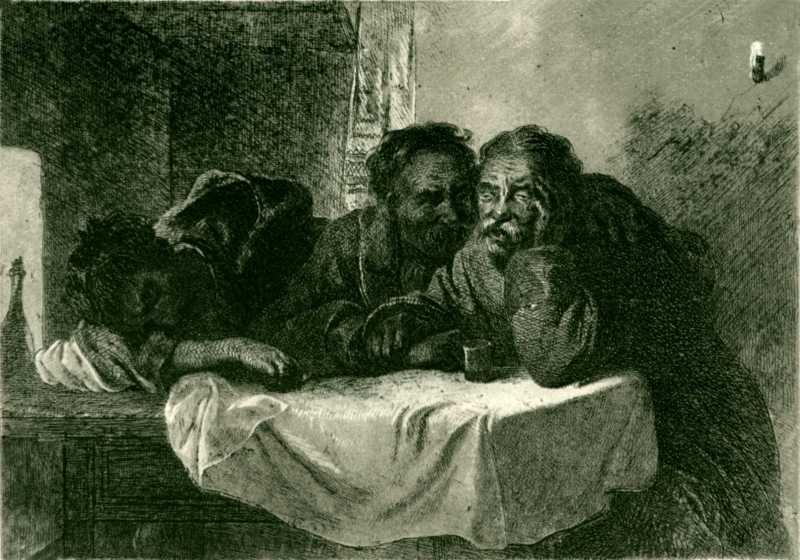 Тарас Шевченко. Приятели