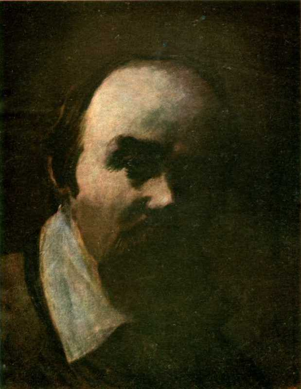 Taras Shevchenko. Self-portrait 1859