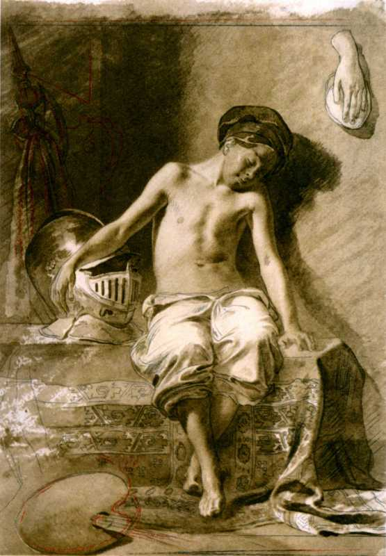 Taras Shevchenko. Boy-sitter
