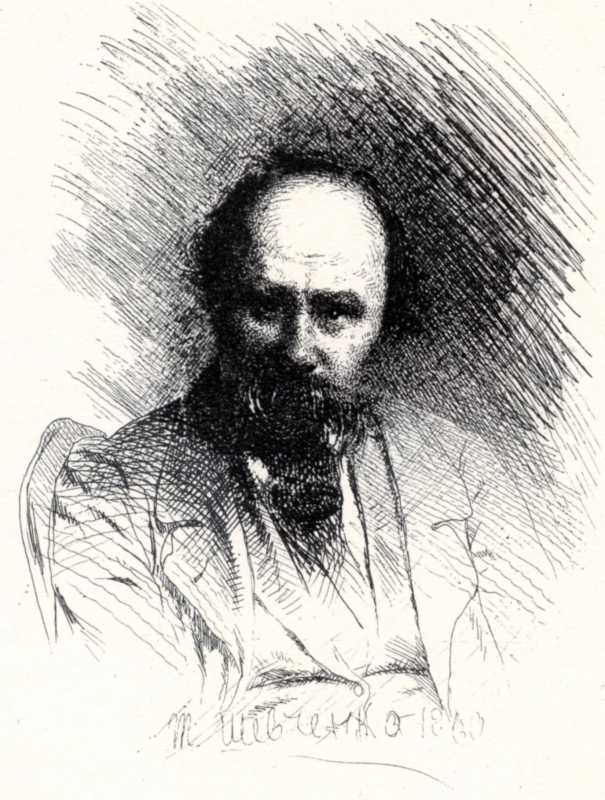Taras Shevchenko. Self-Portrait in a…